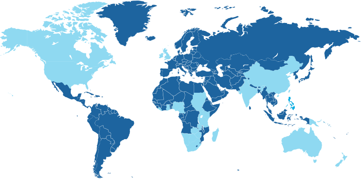 Landen waar de Engelse taal een officiële taal is.