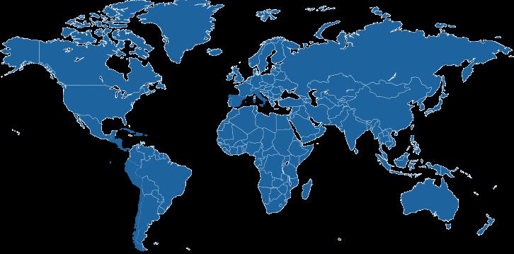 Landen waar Papiamento wordt gesproken.
