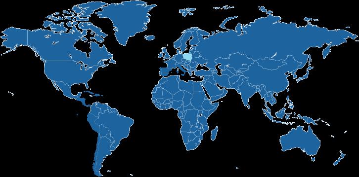 Land waar de Poolse taal een officiële taal is.